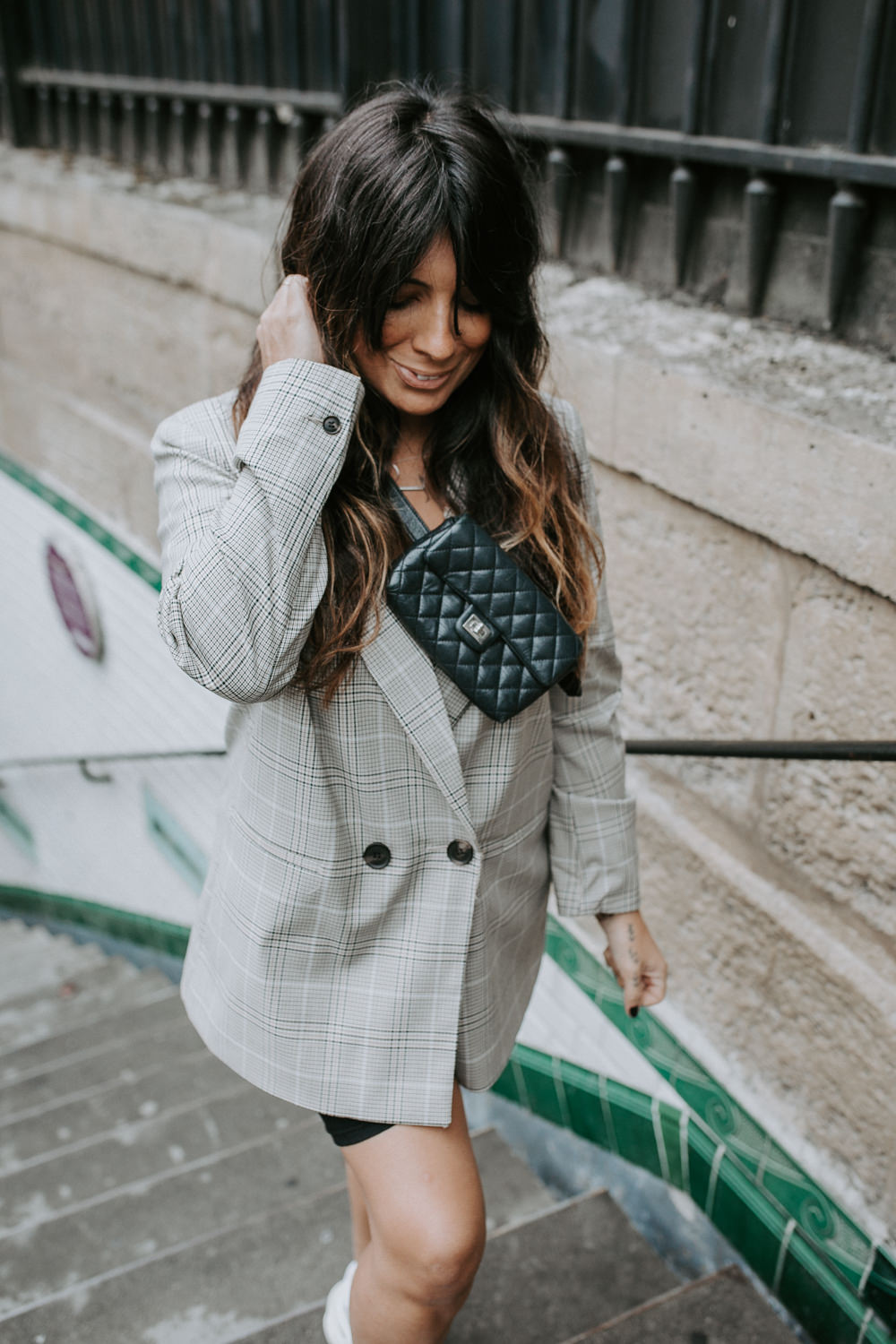 dorisknowsfashion blog mode blazer à carreaux